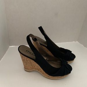 Moda Spana cork platform wedge sandals. Size9.5M.